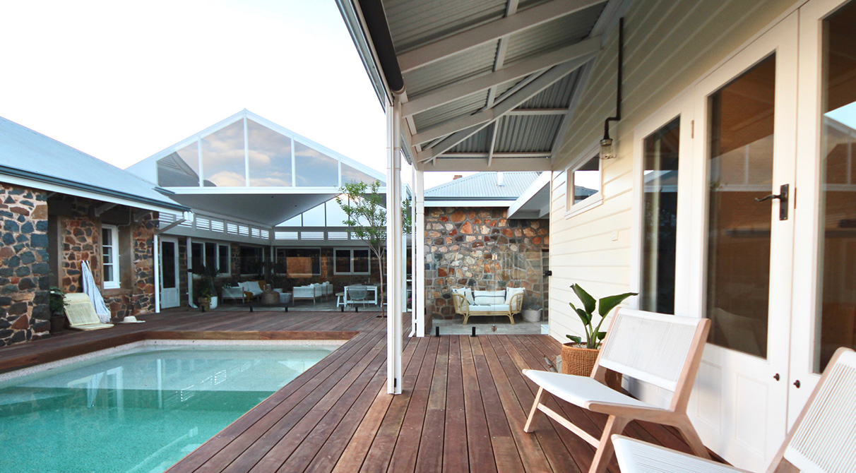 Pool Side Decking - Spotted gum  Corymbia Maculata