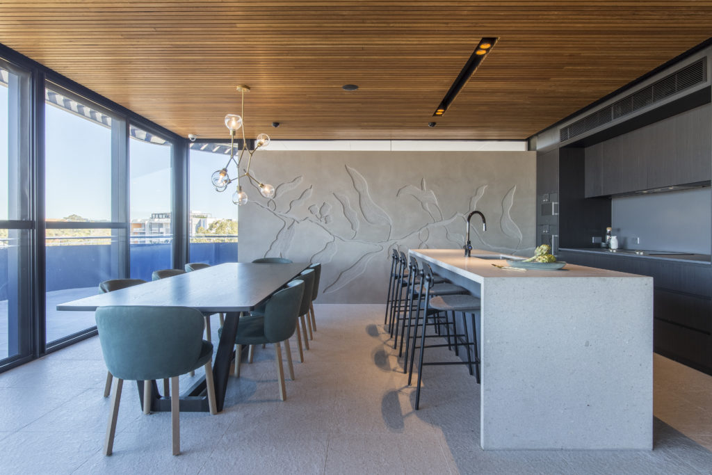 Botanical -Proplank is a linear timber ceiling