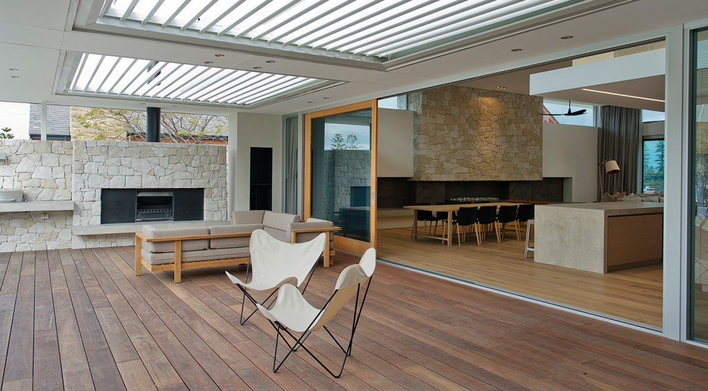 Proplank Timber batten used at Clarendon Residence