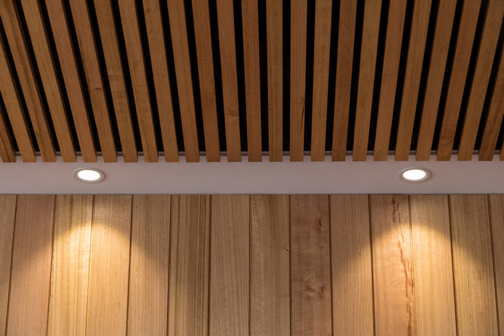 Trend plank timber cladding system comes with matching corner