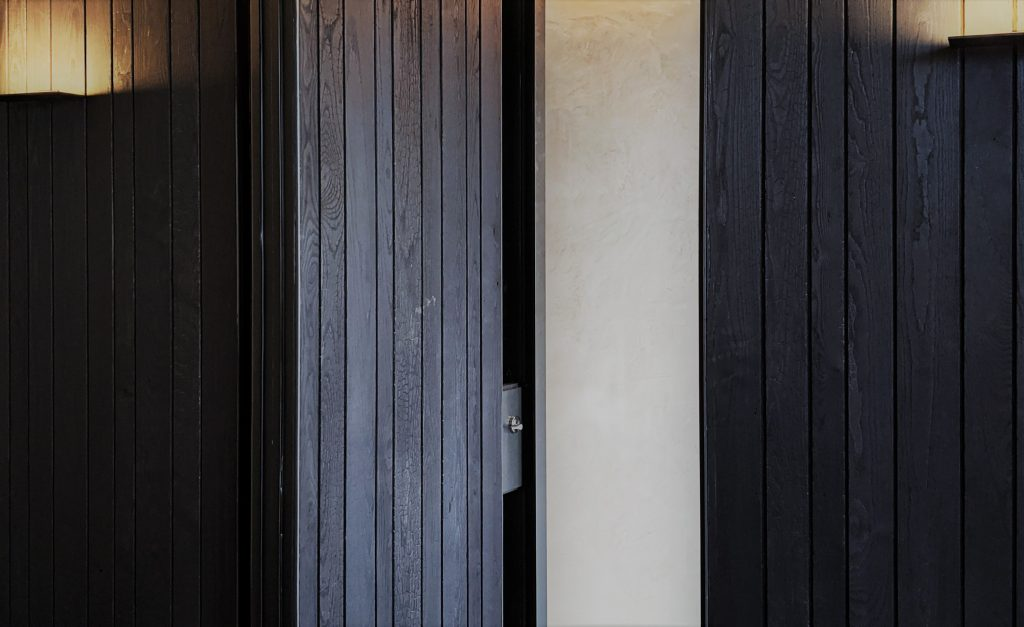 KOMEYUI Japanese-Restaurant Melbourne Shou Sugi Ban Timber Wall Cladding