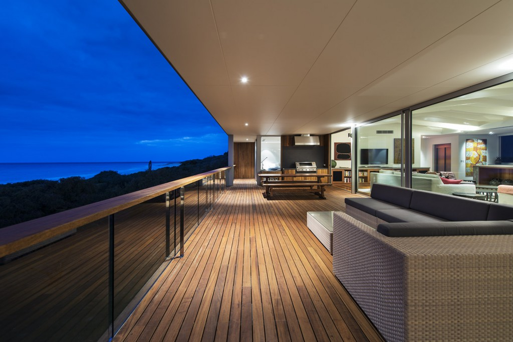 Pacific Teak used for decking