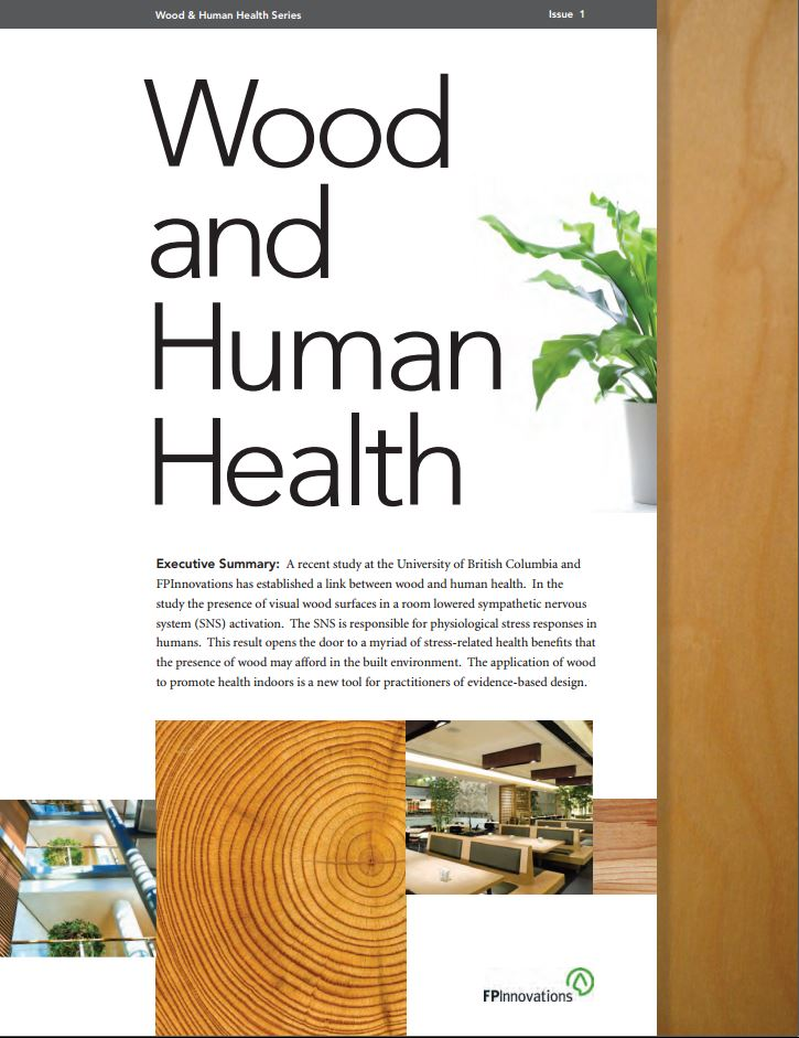 The Study - Wood is Good for Human Health