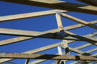 Wood Roof Frame