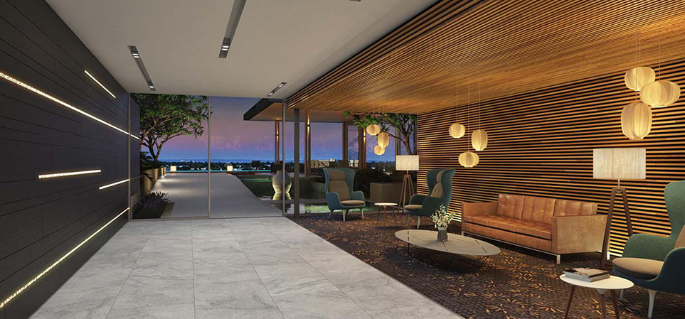 Mortlock Timber Used for walls &  ceilings of Aria Luxury Apartments