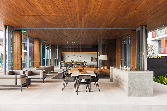 ARCHITECTS TURNING TO TIMBER