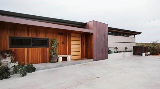 Exterior timber cladding