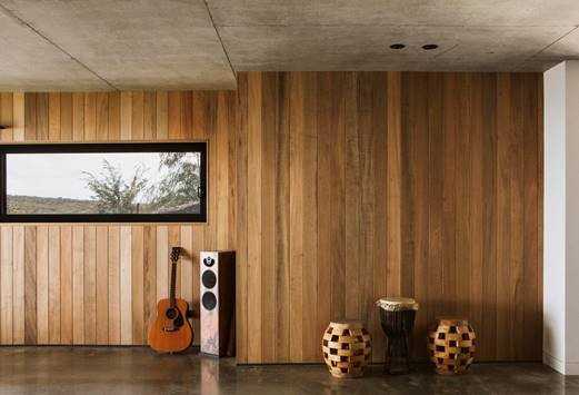 Trendplank used for timber cladding